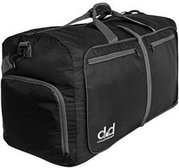 Medium Gym Duffle Bag with Pockets 60L Foldable Lightweight