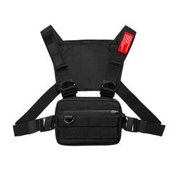 Men Chest Rig Bags Outdoor Harness Chest Vest Travel Crossbo