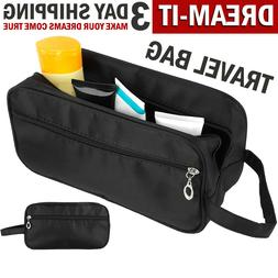 Men Toiletry Travel Bag Shave Kit Organizer Dopp Shaving Acc