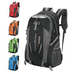 Men Women Travel Nylon Backpack Rucksack Camping Laptop Hiki