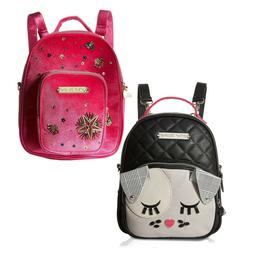 Betsey Johnson Mini Small Convertible Travel Backpack Purse