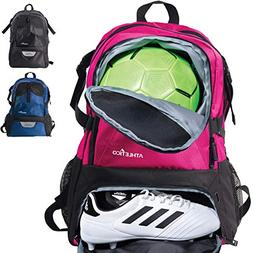 Athletico National Soccer Bag - Backpack for Soccer, Basketb