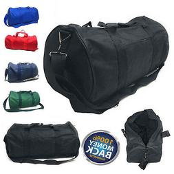 NEW Polyester ROLL Duffle Duffel Bag Travel/Gym/Carry-On Spo