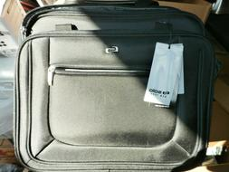 NEW SOLO Bryant 17.3 inch Rolling Case Laptop Bag Black