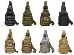 Outdoor Shoulder Military Tactical Backpack Travel Camping