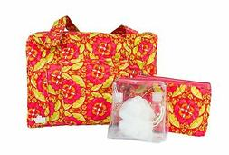 Caboodles Overnight Trio 3 Piece Bag Set, Bliss Warm, 1.35 P