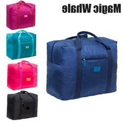 Packable Travel Duffel Versatile Bag Waterproof Nylon Foldab
