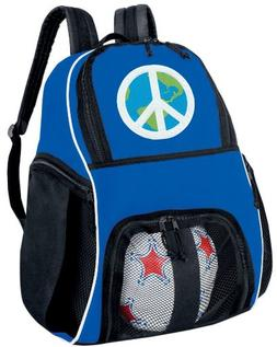 PEACE SIGN SOCCER Ball BACKPACK or Volleyball Bag A TOP Gift