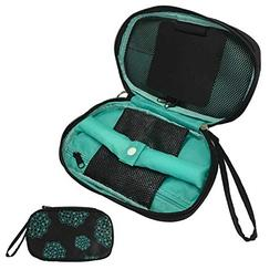 HOYOFO Portable Jewelry Bags with Straps Travel Jewelry Orga