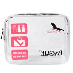 Bagail Pouch Toiletry Bag Holder  Clear PVC Wash Bag Travel