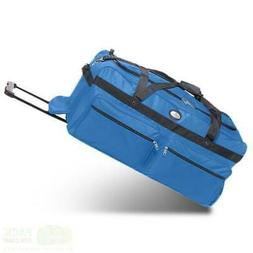 "Oversized Duffle Bag 36""with Rollers - Perfect Heavy-Duty Ca"