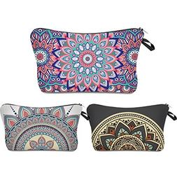 Roomy Cosmetic Bag ,3 piece Set Princoool Waterproof Toiletr