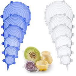 Farielyn-X Silicone Stretch Lids , Reusable Durable and Expa