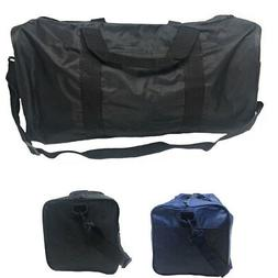 Square Duffle Bags Nylon Travel Sports Gym Carry-On Luggage