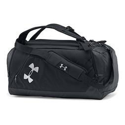 Under Armour Storm Contain Backpack Duffle 3.0,Black/Silver,