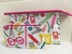 CLINIQUE SUPER CUTE COSMETIC TRAVEL BAG*FREE SHIPPING