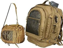 Tactical Backpack - Move Out Travel Bag, Coyote Brown by Rot