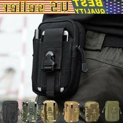 Tactical pockets Molle Pouch Belt Waist Pack Bag Military Wa