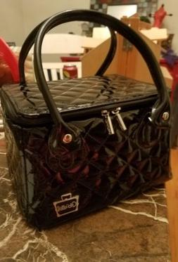 """Caboodles Tapered Tote Sassy Makeup Cosmetic """"It"""" Bag"""