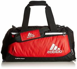 "adidas Team Issue Duffel Bag, Small 24"" Power Red /Black, Sp"