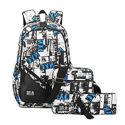 Mioy teenager school bag Canvas printing Backpack durable st