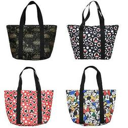 Officially Licensed Disney Tote Travel Zip Bag Choose Mickey