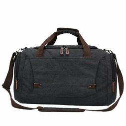 Toupons Travel Bags for Men Duffle Bag Canvas Weekend Travel
