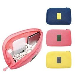 Travel Electronic Accessories Bag Cable USB Drive Storage Or