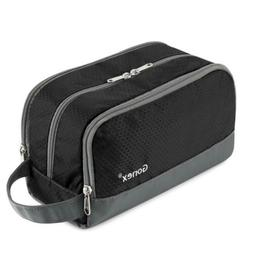 Gonex Travel Toiletry Bag Nylon, Dopp Kit Shaving Organizer