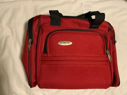 Samsonite Travel Tote Bag ~ Straps ~ Red ~ New With Tags ~ C