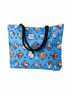 Disney Dogs Travel Tote Bag Carry-On 101 Dalmatians Lady & T