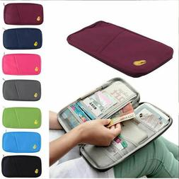 Travel Wallet Family Passport Holder Accessories Document Or