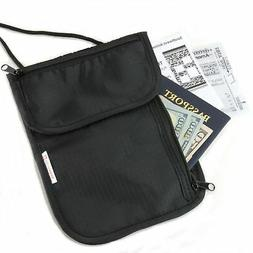 Alpine Swiss Travel Wallet Neck Pouch Undercover Security St