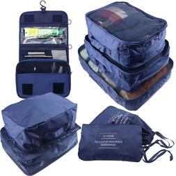 Arxus Travel Waterproof Packing Organizers Cubes with Shoe B