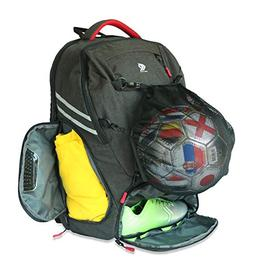 RitzKitz The Ultimate Sports Bag | Backpack for Soccer, Bask