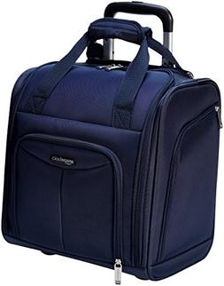 AmazonBasics Underseat Luggage, Navy Blue