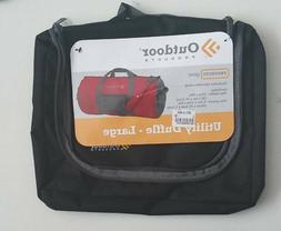 Outdoor Products Utility Duffle Pouch Large Traveling Bag Bl