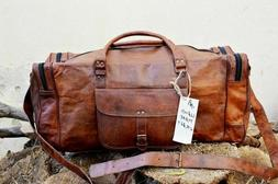 vintage men s bag leather duffel travel