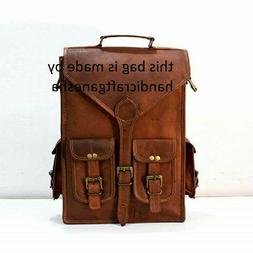 vintage shoulder travel bag 17 leather backpack