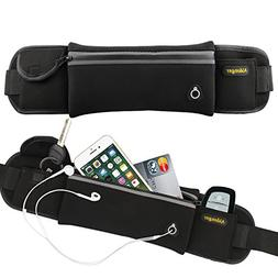 Aidonger Waist Belt Bag Waterproof Sports Waist Pack