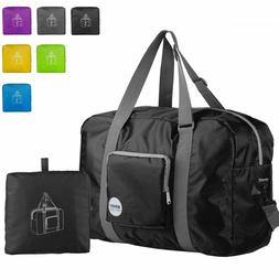Wandf Foldable Travel Duffel Bag Luggage Sports Gym Water Re