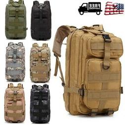 Waterproof Outdoor Tactical Backpack Hiking Travel Rucksack