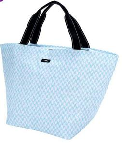 weekender travel bag xl teal and white