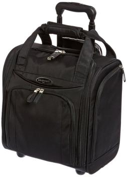 Wheeled Carry On 16 Inch Underseat Luggage Rolling Suitcase