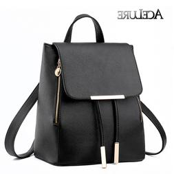 Women Backpack Students Fashion Schoolbag Top Handle Travel