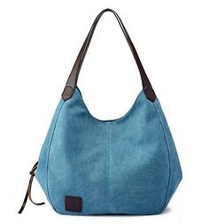 51ed0734eb0a Sanxiner Women's Tote Bag Canvas Top Han...