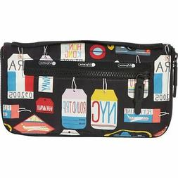 Lesportsac Women's Travel Carry All Cosmetic Travel Bag