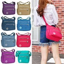 Women's Waterproof Messenger Bags Travel Crossbody Ladies Be