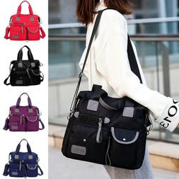 Women's Waterproof Travel Messenger Cross Body Bag Shoulder