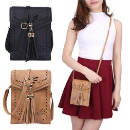 Womens Handbags Small Leather Crossbody Bag Purse Vintage Ce